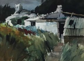 Three watercolours by Vaughan Bevan (contemporary)