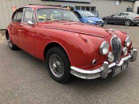 1961 Jaguar Mk.II 3.4 Manual Saloon, Registration 598 VBH, 3.4 six cylinder engine, manual 5 speed g