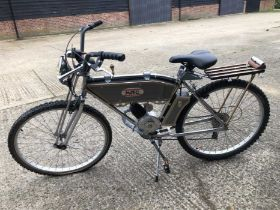 Unusual 'Steam Punk' Bicycle, a one off creation, with lever action gear change, lovingly built by t