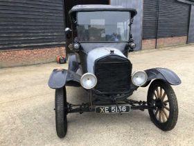 1921 Ford Model T, Registration XE 5156