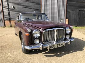 1973 Rover P5B Coupe, Automatic, Reg. No. MUL 745L, finished in Bordeaux Red with Buckskin interior,