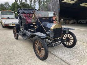 1911 Ford Model T , Registration F4906