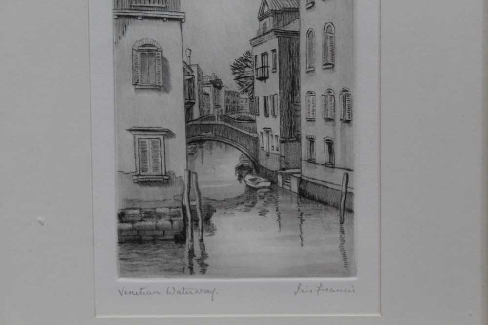 Group of contemporary signed etching etchings, prints and other works, mostly East Anglian artists t - Image 37 of 42