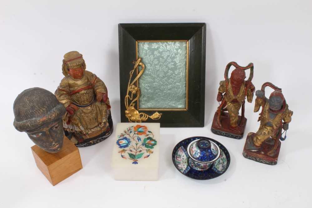 Group of Oriental works of art