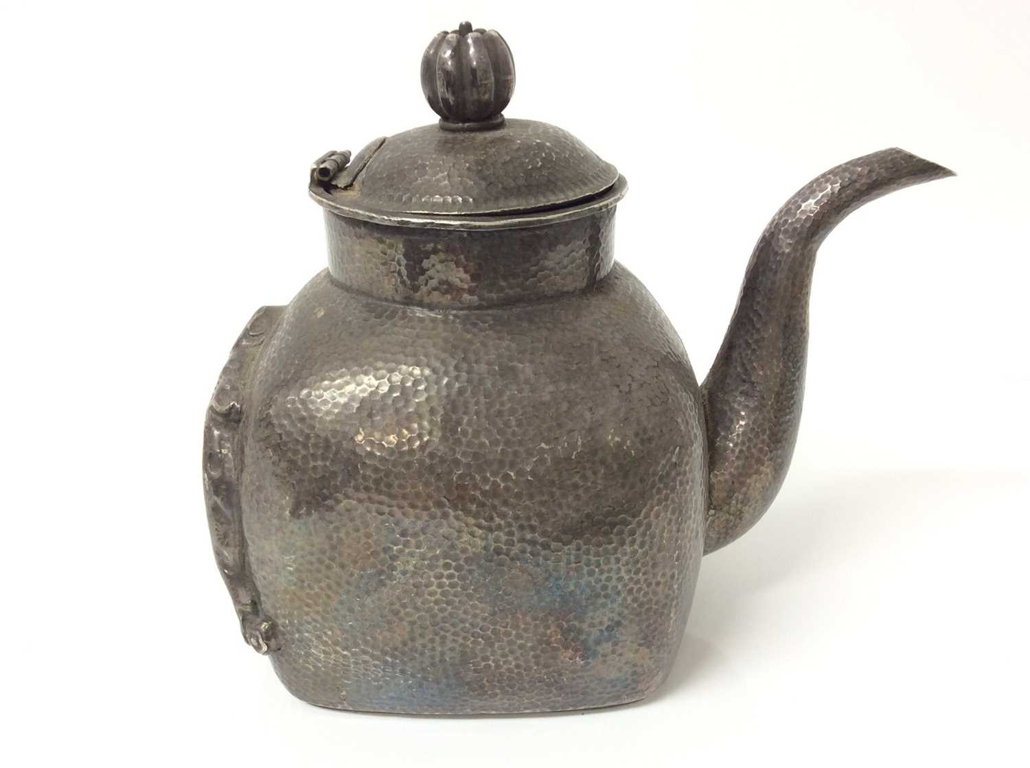 Chinese silver teapot and jug - Image 4 of 12