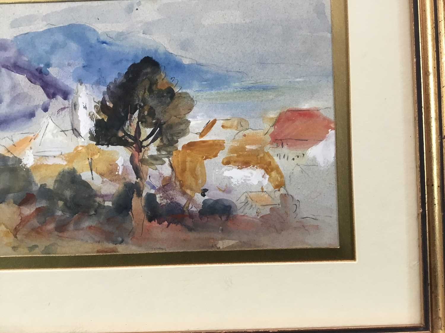 Robert G. D. Alexander (1875-1945) pencil and watercolour - view of Laigueglia, 14cm x 18.5cm, in gl - Image 4 of 8