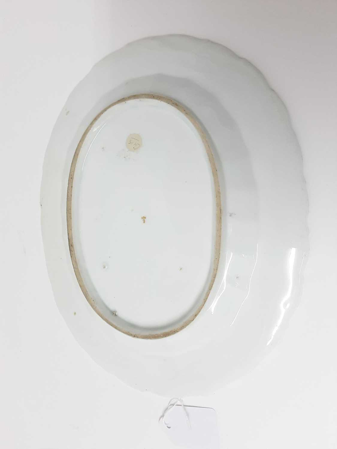 A Chelsea oval dish, circa 1760 - Image 2 of 3