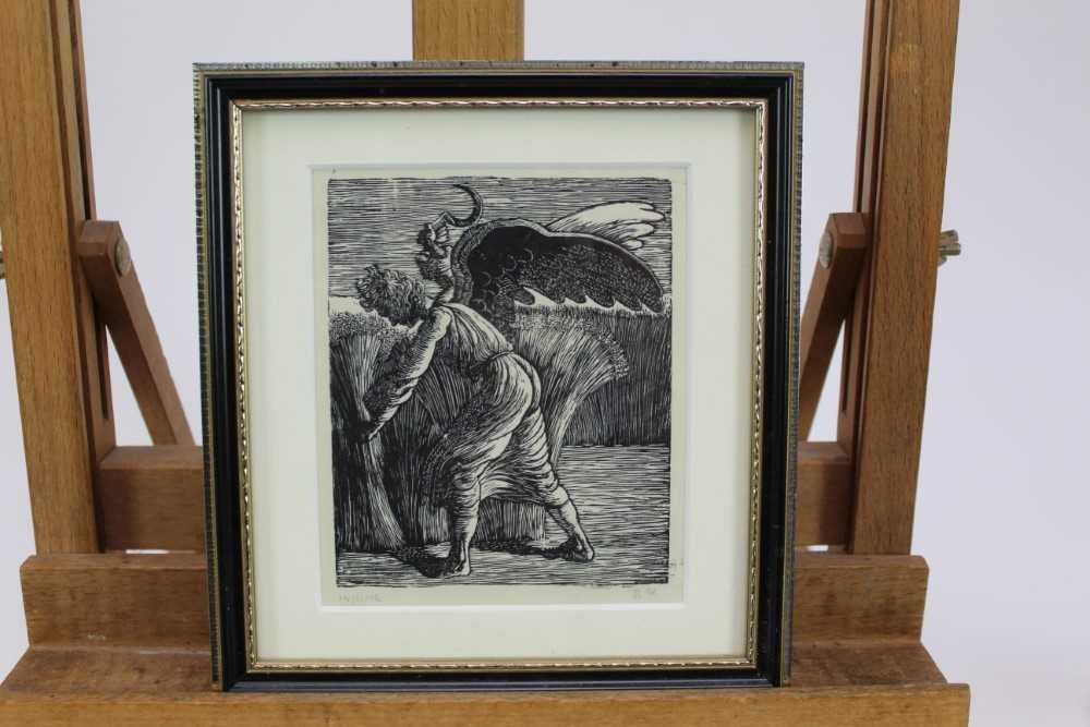 Group of contemporary signed etching etchings, prints and other works, mostly East Anglian artists t - Image 27 of 42
