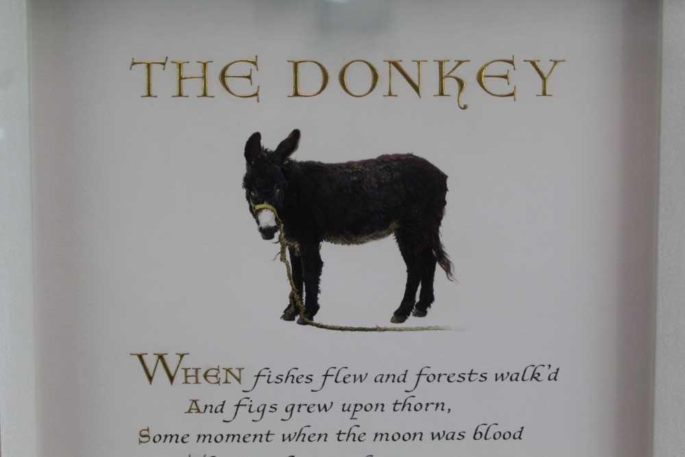 Denzil Reeves (1926-2008) coloured illumination The Donkey - Image 2 of 4