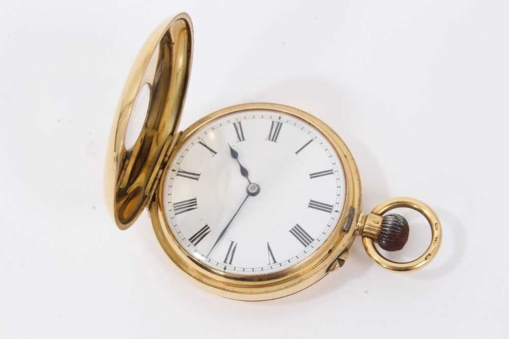 18ct gold fob watch - Image 3 of 4