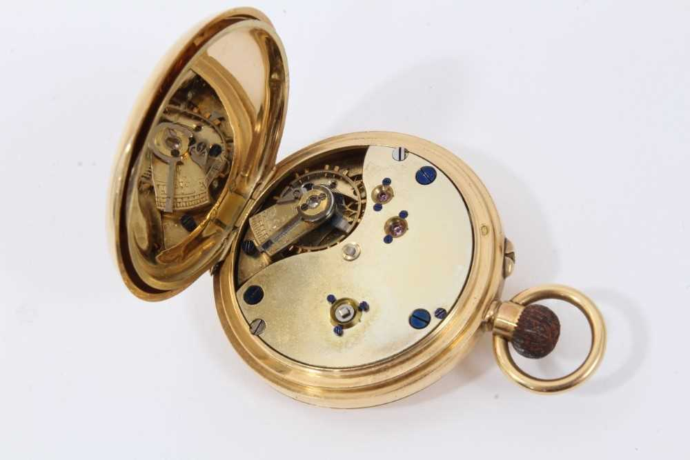 18ct gold fob watch - Image 4 of 4