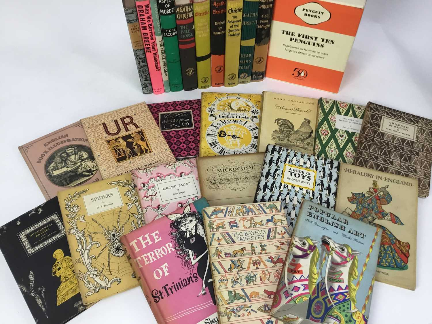 Selection of Agatha Christie Crime Club Choice first editions, together with other 20th century hard - Image 5 of 18