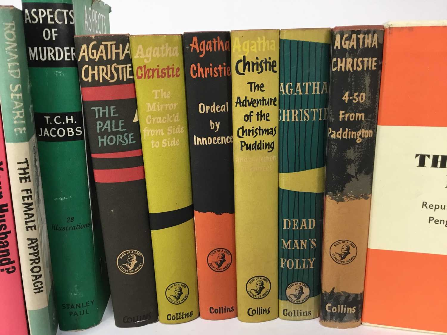 Selection of Agatha Christie Crime Club Choice first editions, together with other 20th century hard - Image 2 of 18