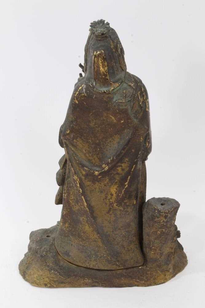 Mid 19th century ormolu figure of a woman - Image 2 of 4