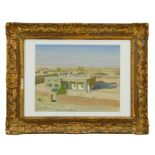 *Frank Wootton (1911-1998) oil on canvas laid on board - Iran Landscape