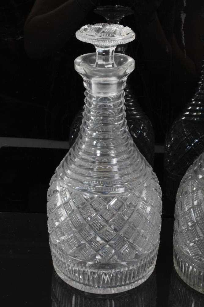 Pair of decanter - Image 2 of 5