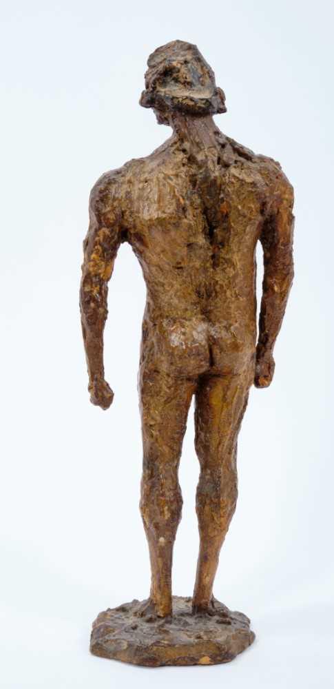 *Dame Elisabeth Frink (1930-1993) plaster maquette - Warrior, 1957 - Image 3 of 5