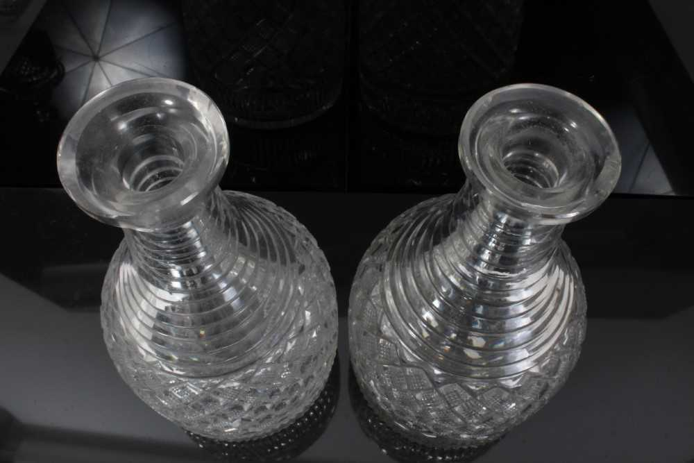 Pair of decanter - Image 4 of 5