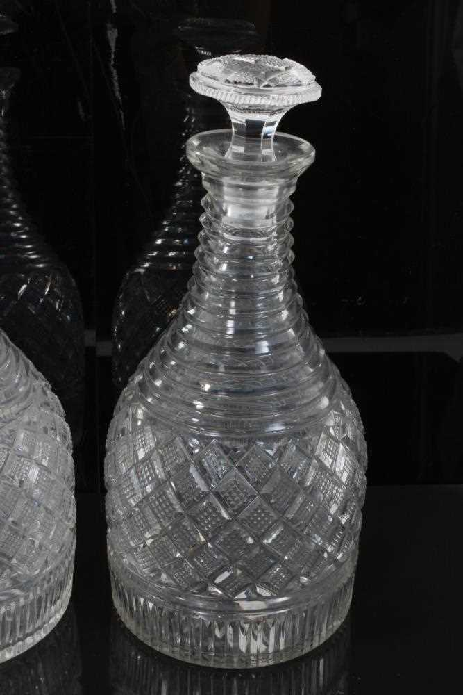 Pair of decanter - Image 3 of 5