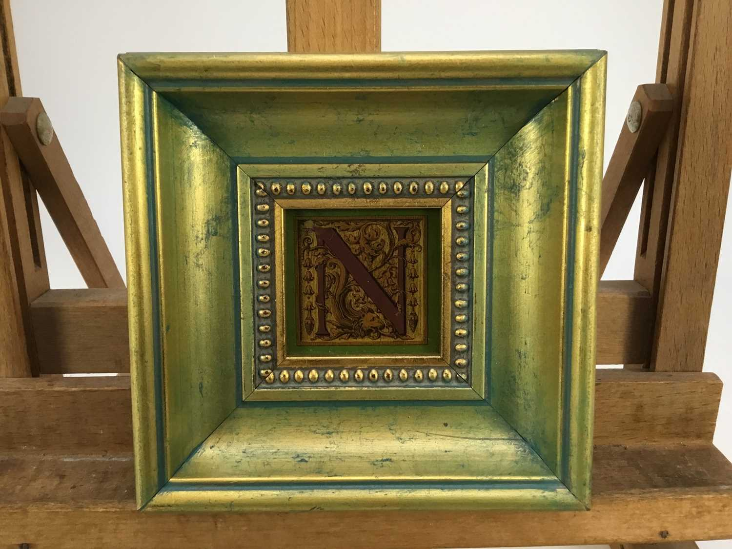 Jenny Simpson (1931-2020), Georgian-style glass pictures, framed and glazed - eight mixed pictures - Image 8 of 11