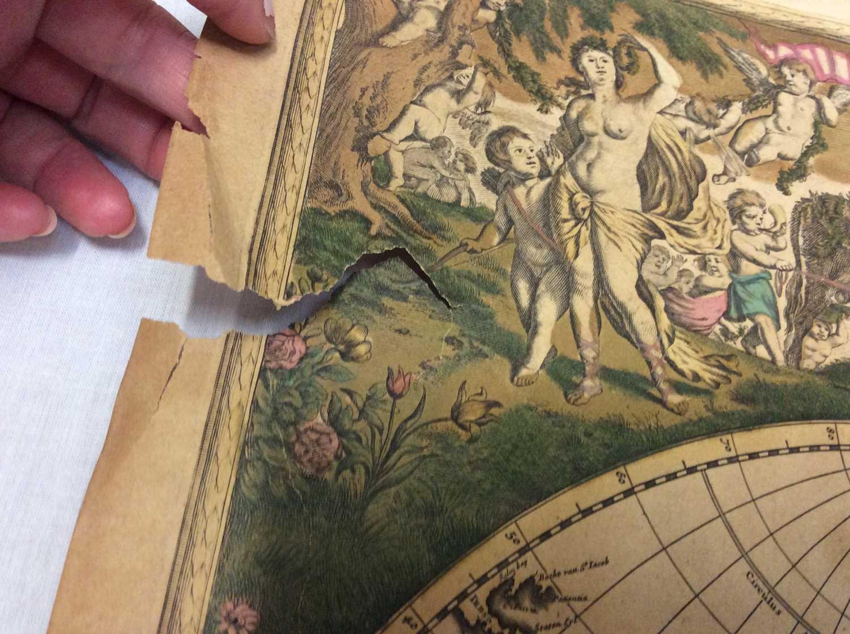 Frederick De Wit - Nova Orbis Tabula, in Lucem Edita, late 17th century hand coloured engraved map o - Image 10 of 11