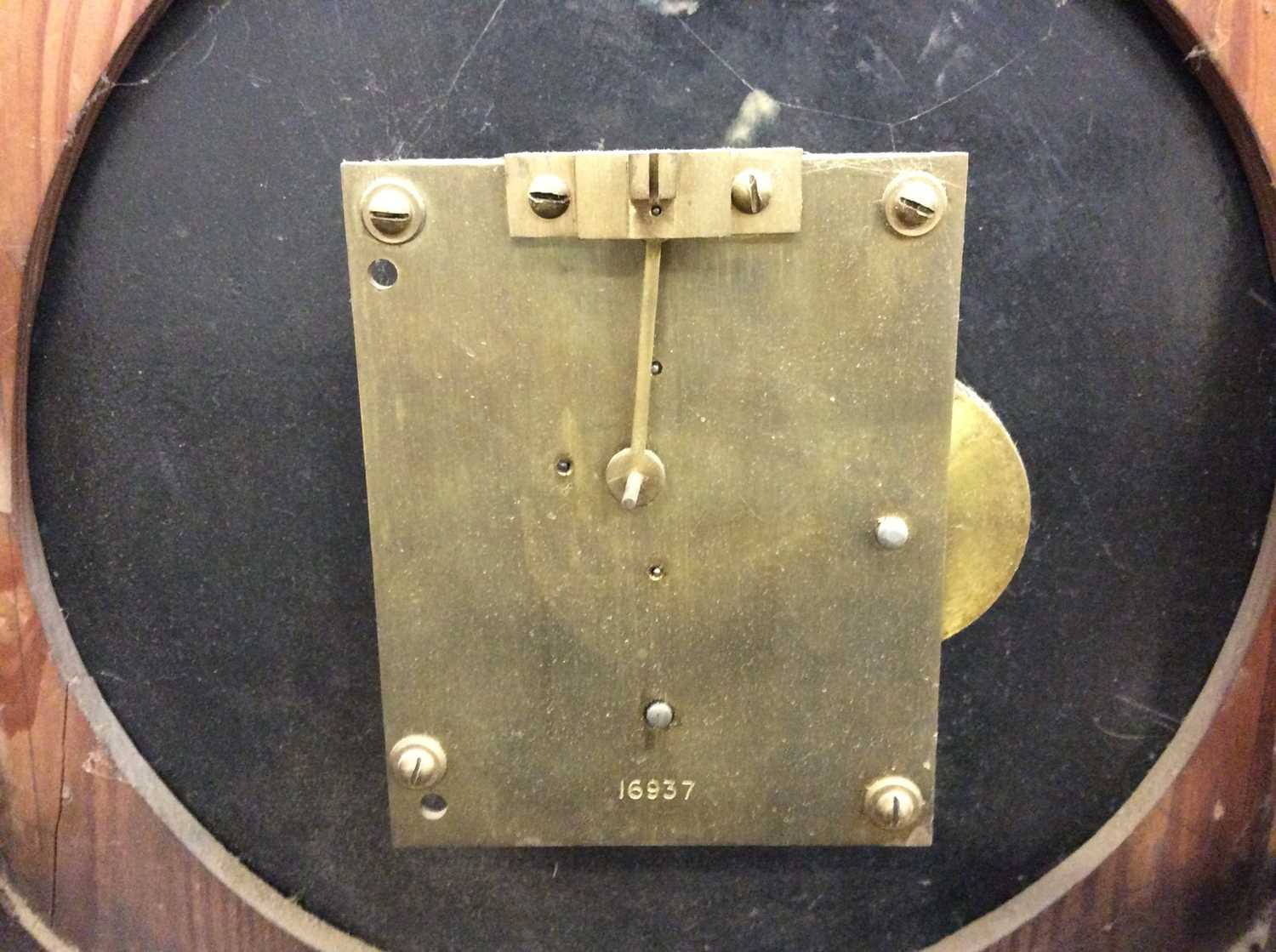Victorian Gothic wall clock - Image 4 of 6