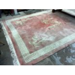 Large Chinese wool pile rug from Harrods