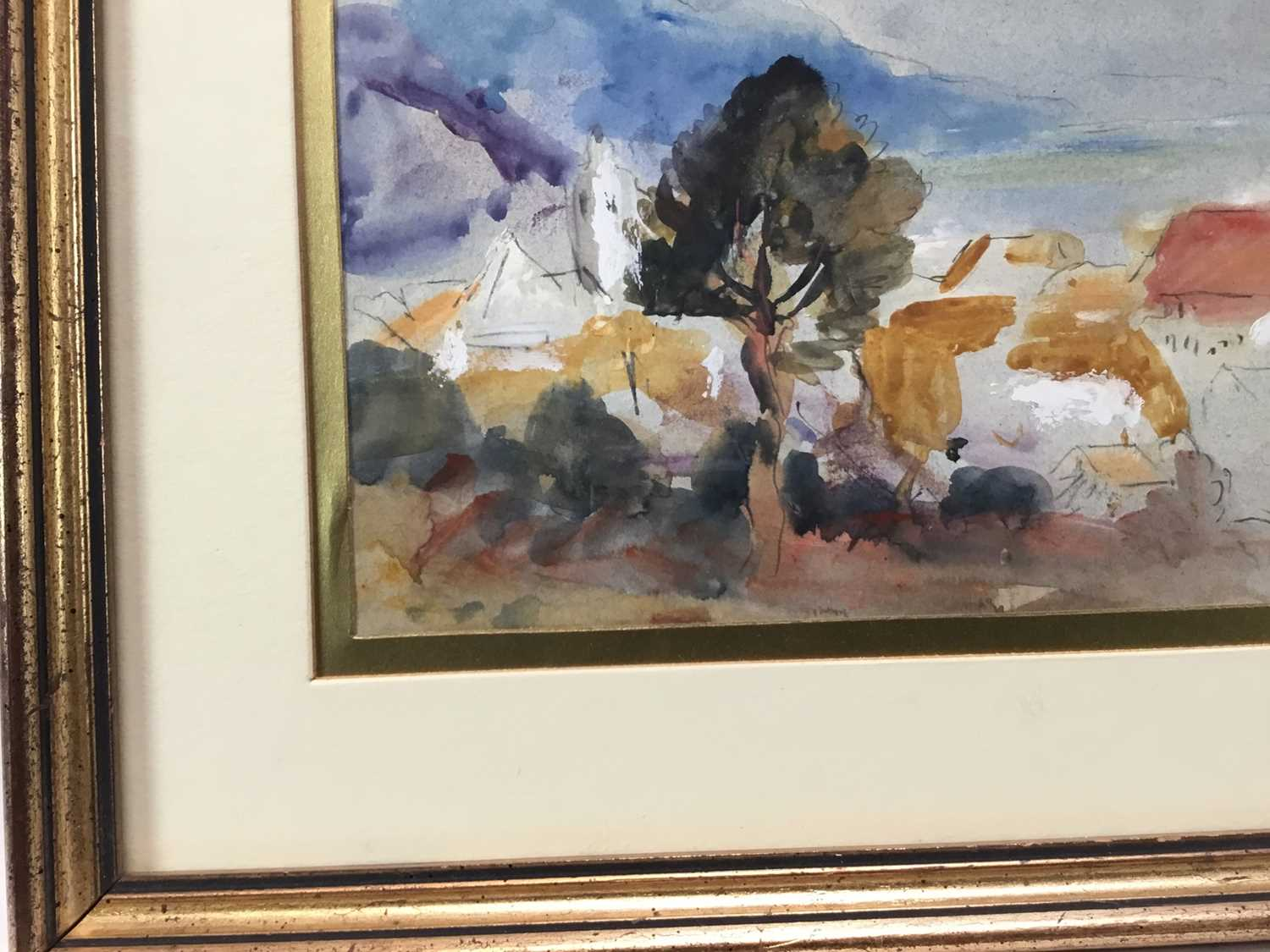 Robert G. D. Alexander (1875-1945) pencil and watercolour - view of Laigueglia, 14cm x 18.5cm, in gl - Image 3 of 8