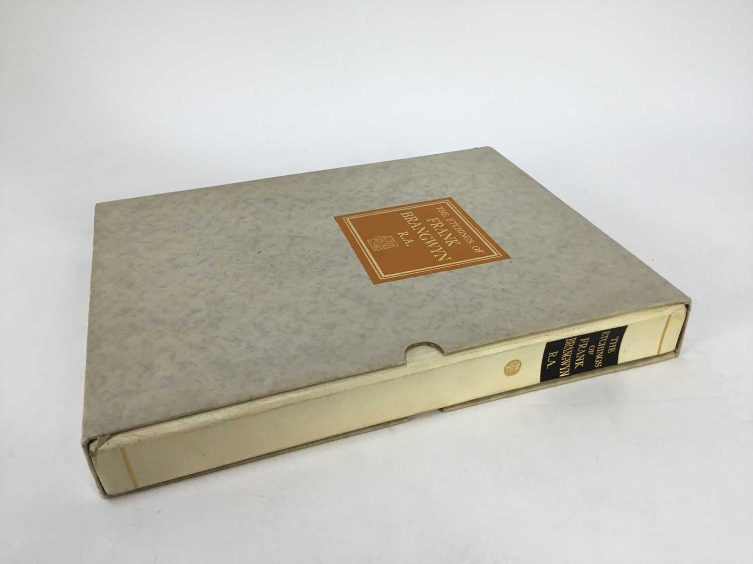 Book - The Etchings of Frank Brangwyn, R.A. A Catalogue Raisonne By W. Gaunt, limited edition 10/125