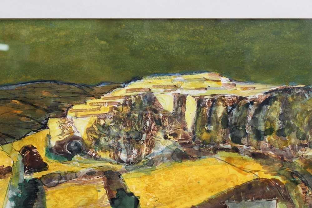 *Walter Hoyle (1922-2000) watercolour - A Valley, signed and dated '51, 46cm x 59cm, in glazed frame - Image 5 of 9