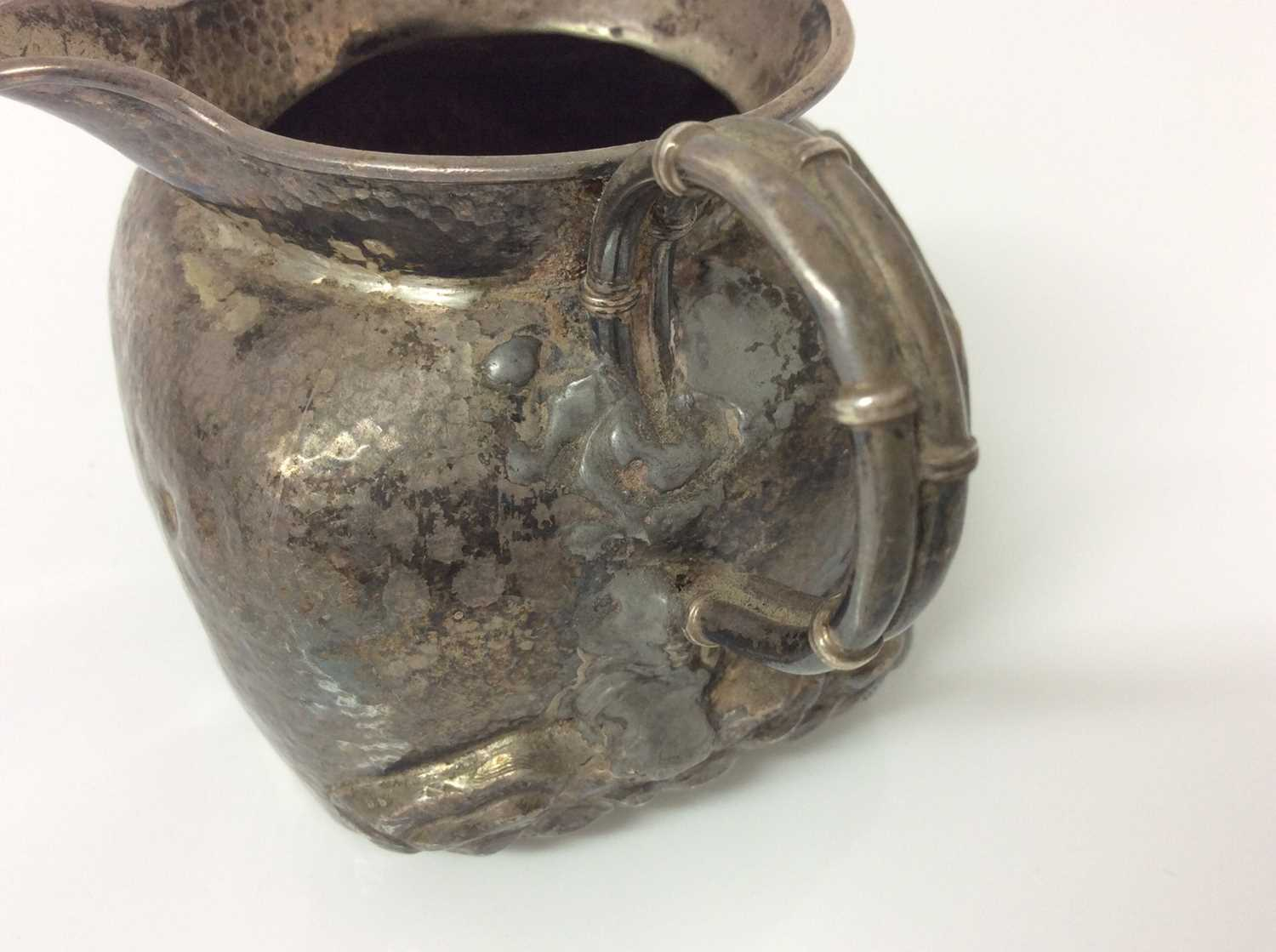 Chinese silver teapot and jug - Image 10 of 12