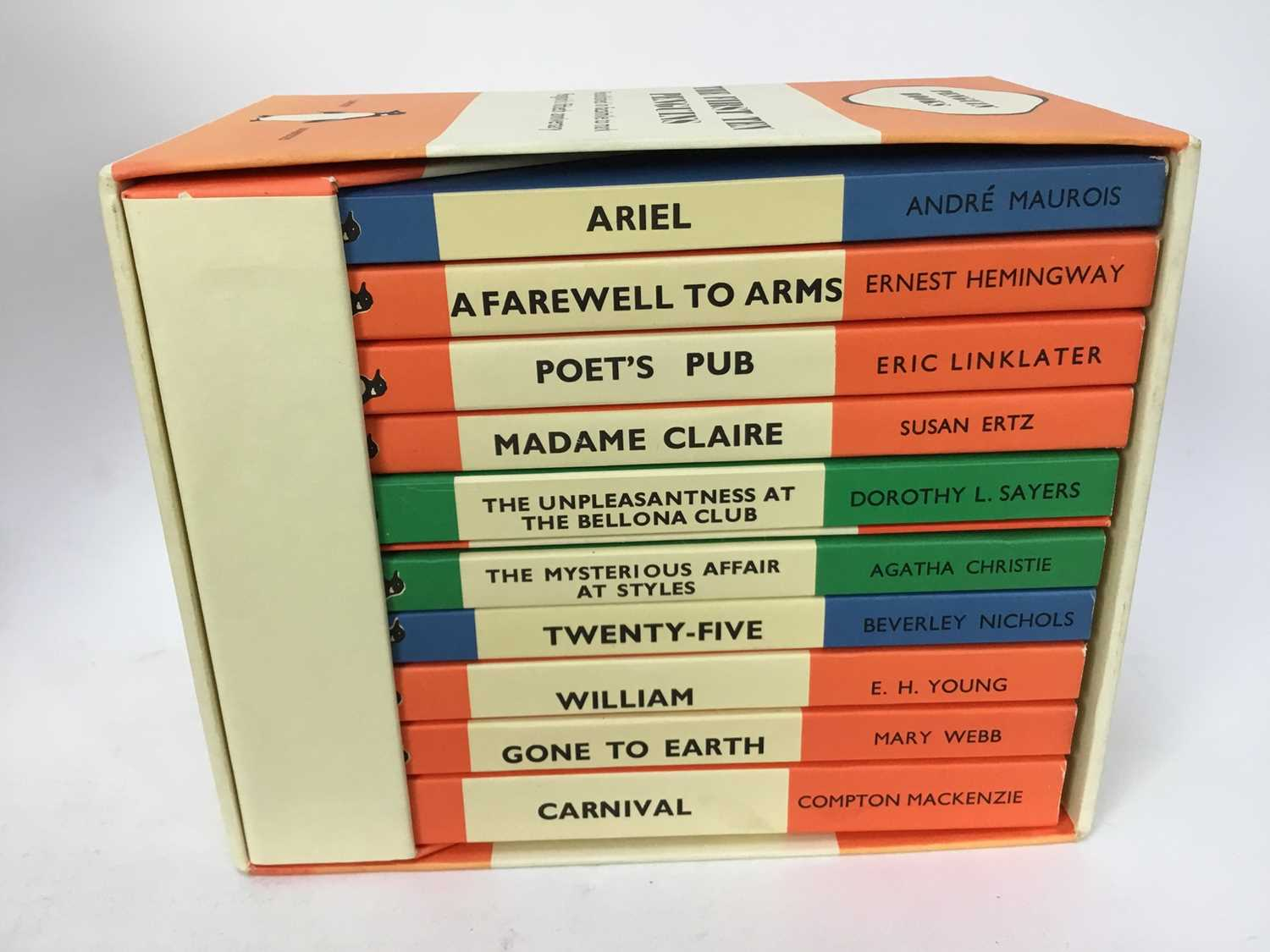 Selection of Agatha Christie Crime Club Choice first editions, together with other 20th century hard - Image 4 of 18