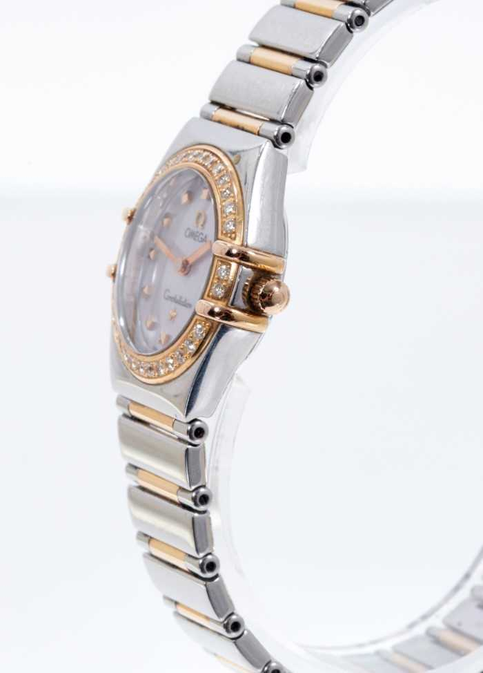 Ladies Omega Constellation watch, with box and papers - Image 2 of 5