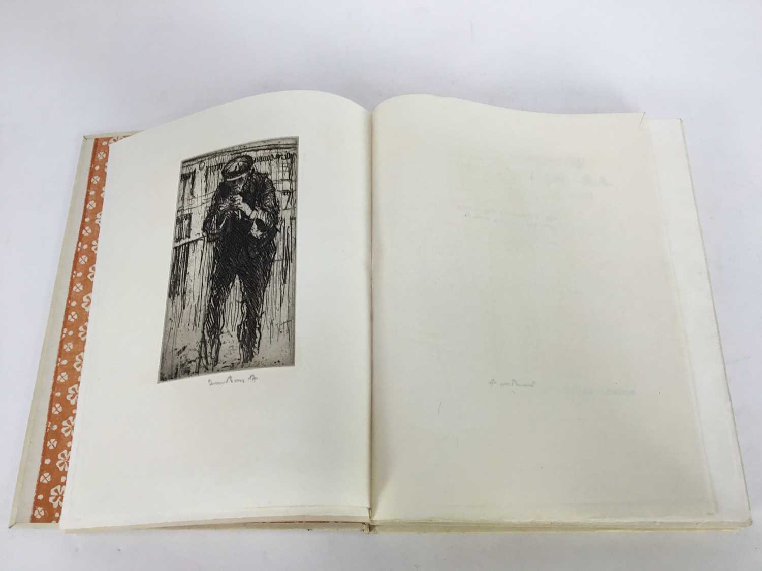 Book - The Etchings of Frank Brangwyn, R.A. A Catalogue Raisonne By W. Gaunt, limited edition 10/125 - Image 4 of 8