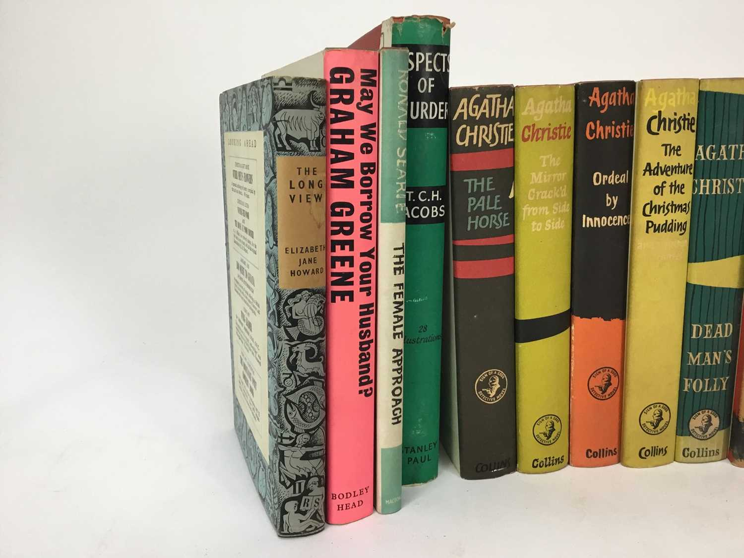 Selection of Agatha Christie Crime Club Choice first editions, together with other 20th century hard - Image 3 of 18