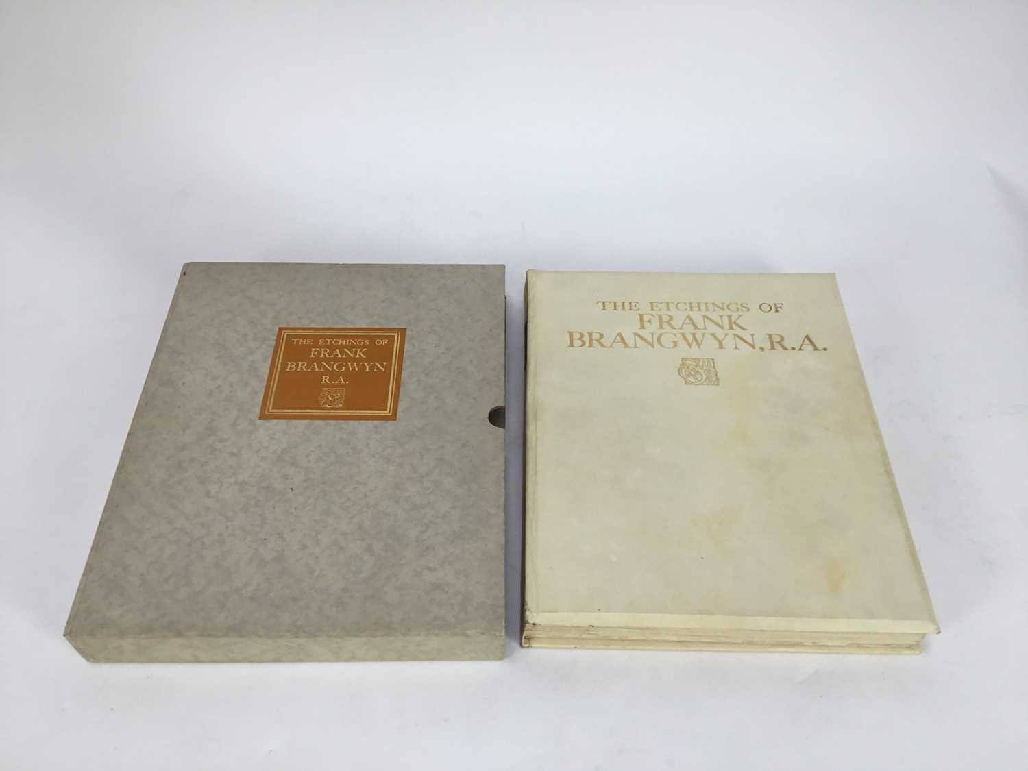Book - The Etchings of Frank Brangwyn, R.A. A Catalogue Raisonne By W. Gaunt, limited edition 10/125 - Image 2 of 8