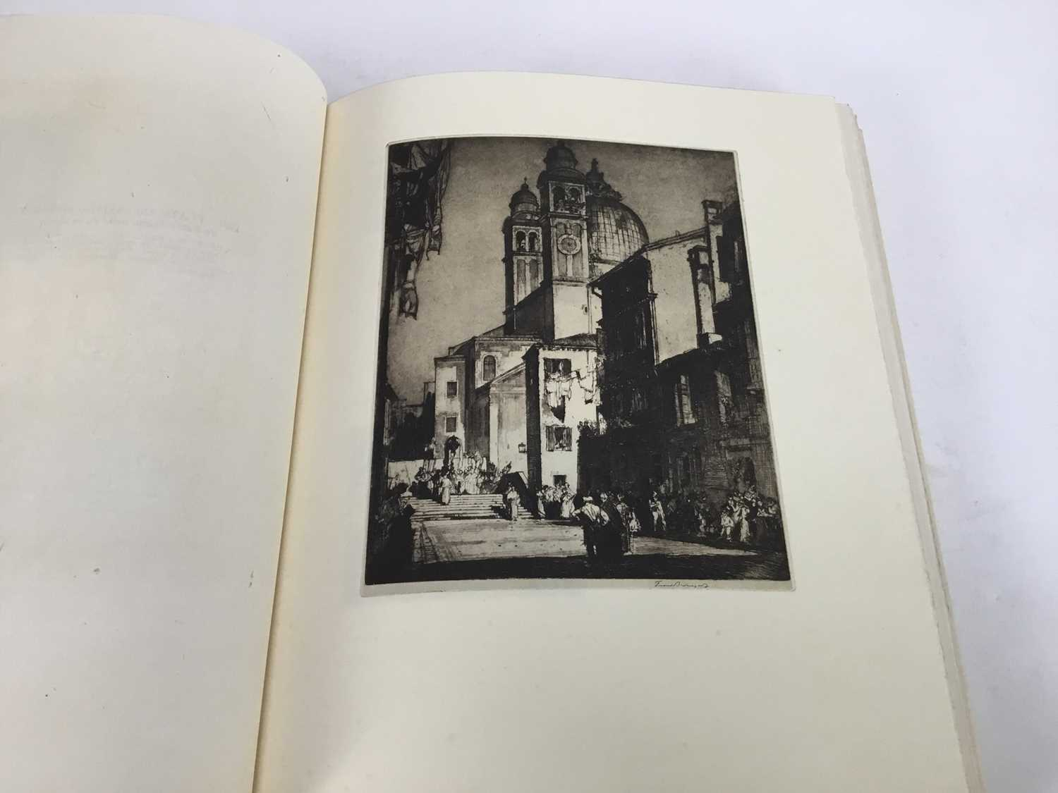 Book - The Etchings of Frank Brangwyn, R.A. A Catalogue Raisonne By W. Gaunt, limited edition 10/125 - Image 8 of 8