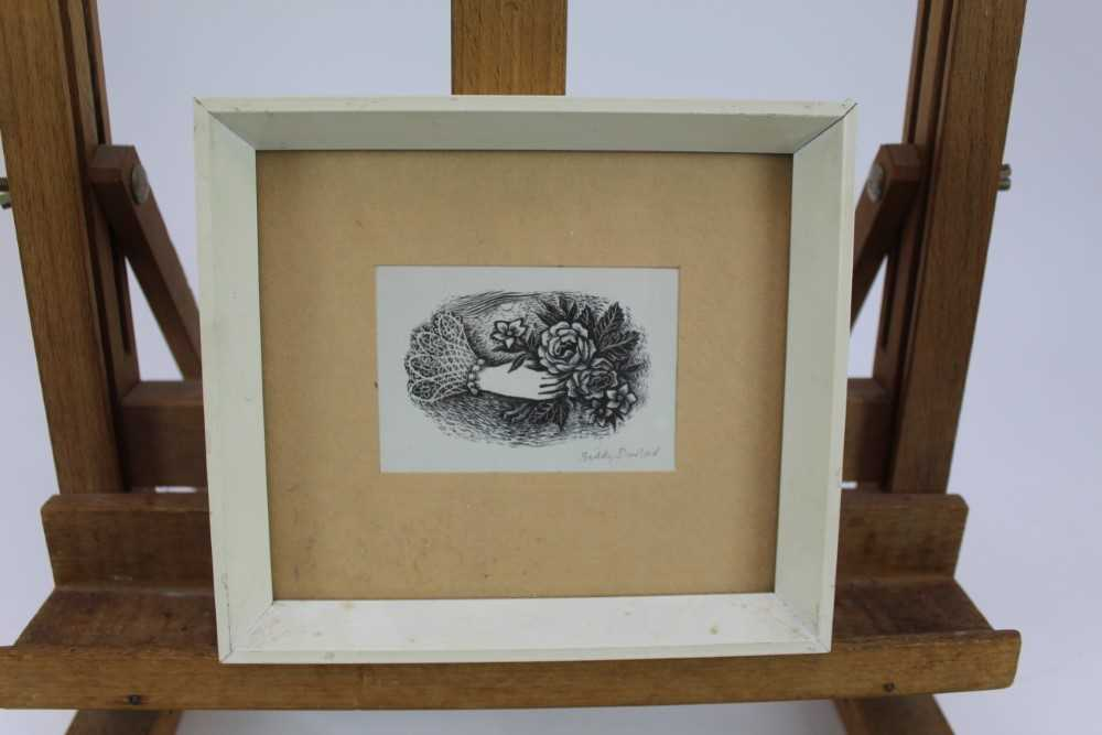 Group of contemporary signed etching etchings, prints and other works, mostly East Anglian artists t - Image 30 of 42