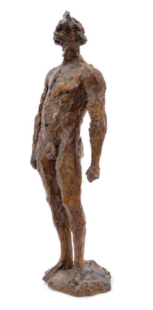 *Dame Elisabeth Frink (1930-1993) plaster maquette - Warrior, 1957 - Image 4 of 5