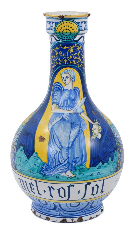 19th century Italian maiolica vase