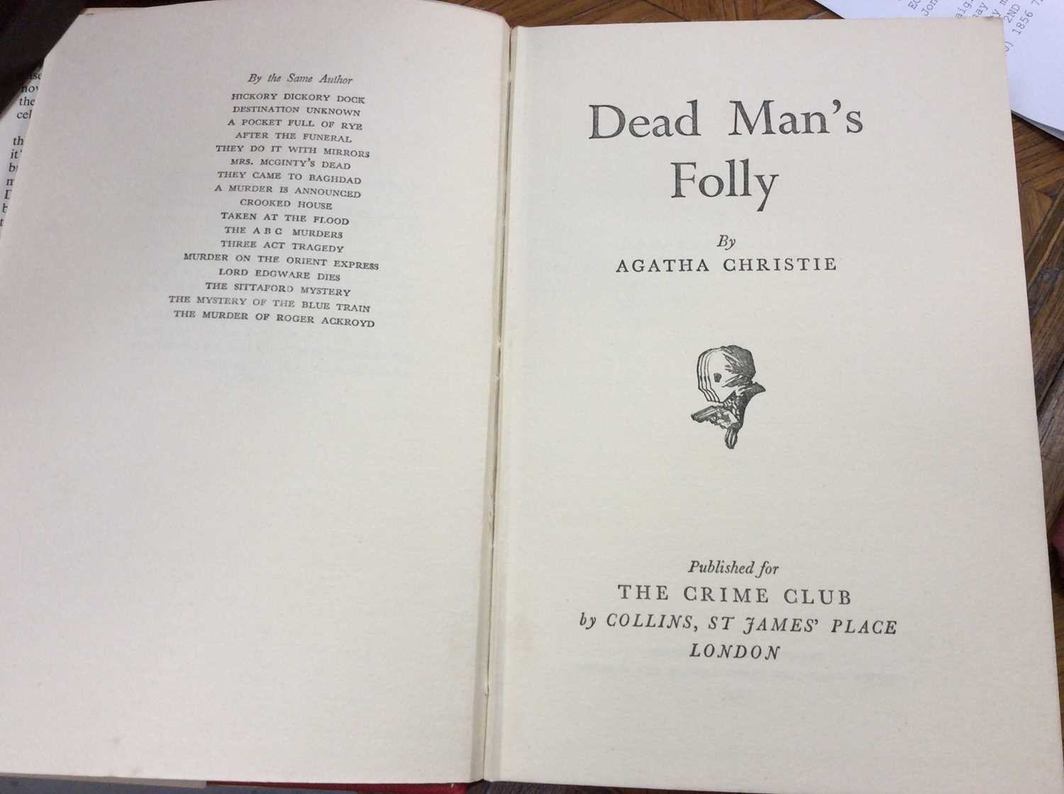 Selection of Agatha Christie Crime Club Choice first editions, together with other 20th century hard - Image 15 of 18