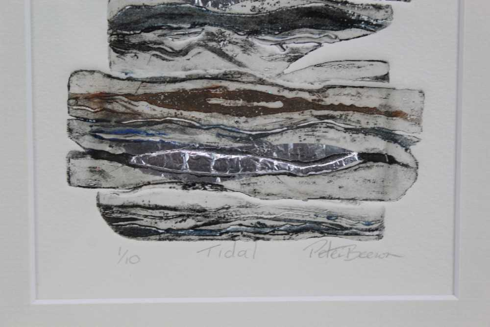 Group of contemporary signed etching etchings, prints and other works, mostly East Anglian artists t - Image 14 of 42