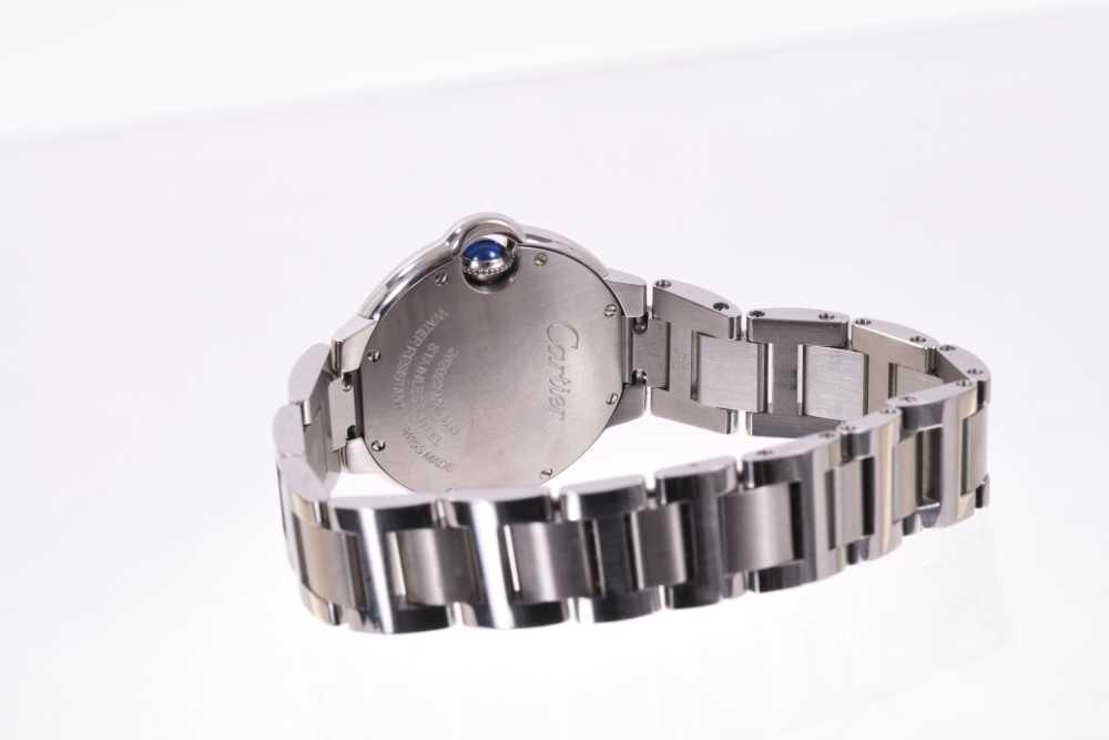 Cartier Ballon Bleu stainless wristwatch - Image 3 of 4