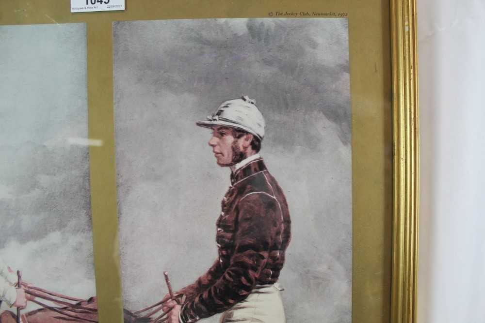 After Harry Hall, pair of coloured prints - Famous Jockeys, published by The Tryon Gallery, 57cm x 4 - Image 5 of 14