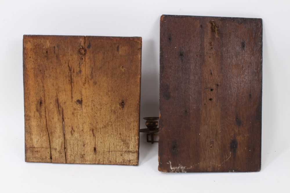 Collection of 17th century and later carved panels and furniture mounts - Image 7 of 9