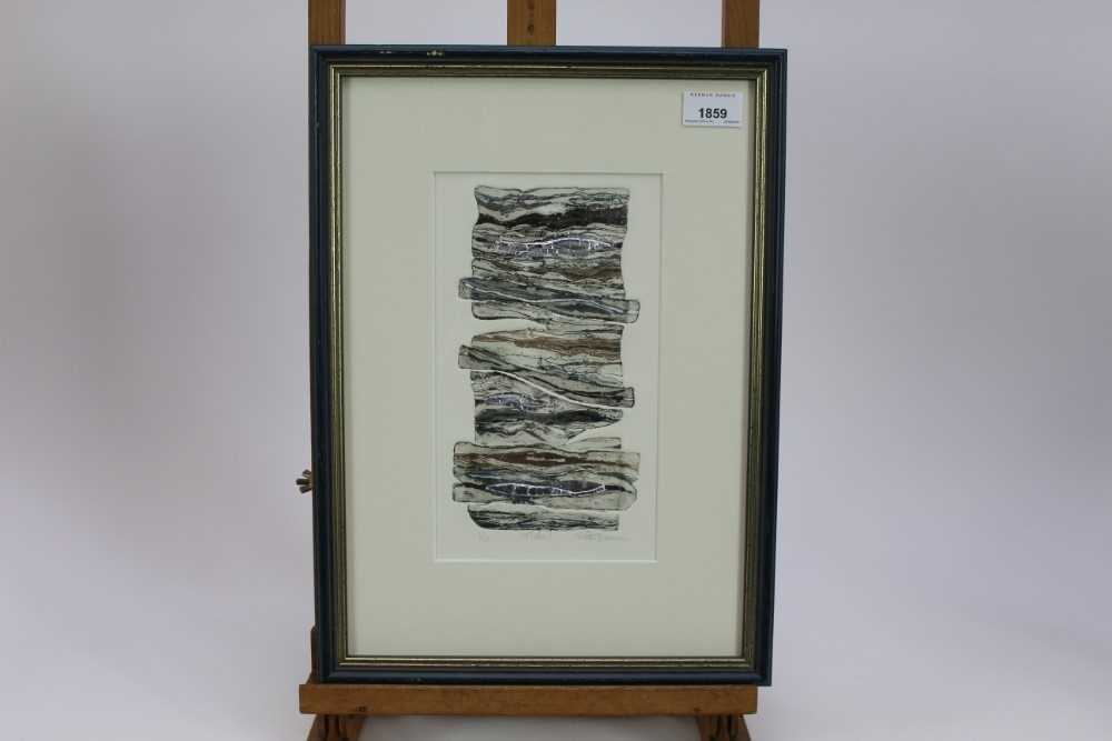 Group of contemporary signed etching etchings, prints and other works, mostly East Anglian artists t - Image 13 of 42