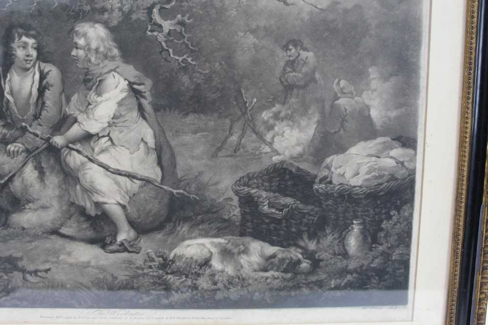 Late 18th century mezzotint by W. Ward after George Morland - The Woodcutter, published 1792 by Orme - Image 7 of 10