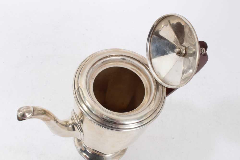 Three piece silver bachelors coffee set - Image 5 of 10