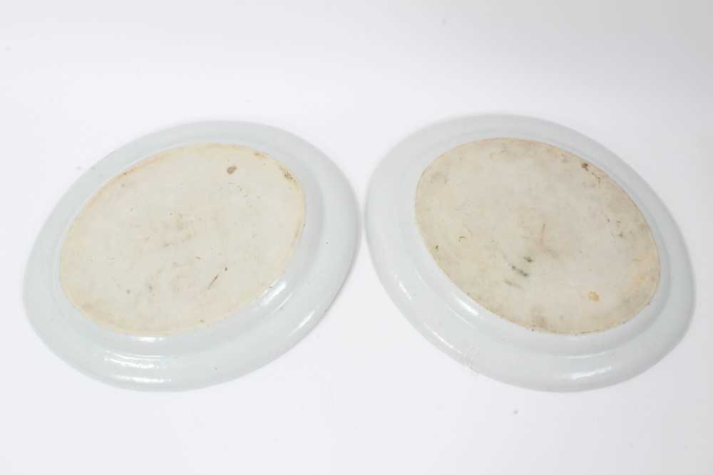 Good pair of 18th Century Chinese dishes - Image 6 of 6