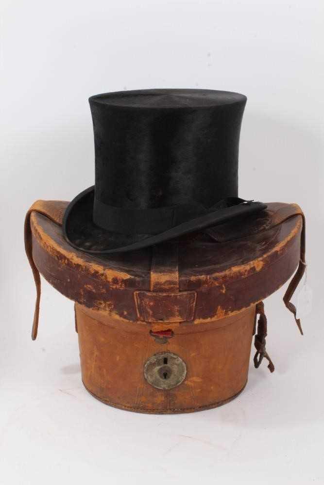 Vintage cased top hat